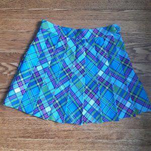 AA plaid tennis skirt